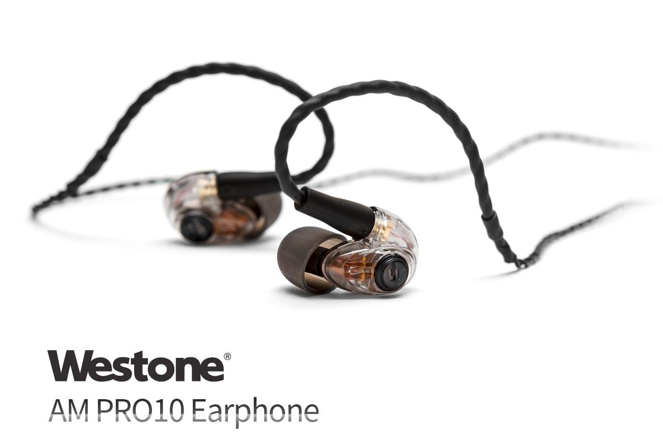 개방감과 음질을 양립시킨 모니터링 이어폰 웨스톤 AMpro10