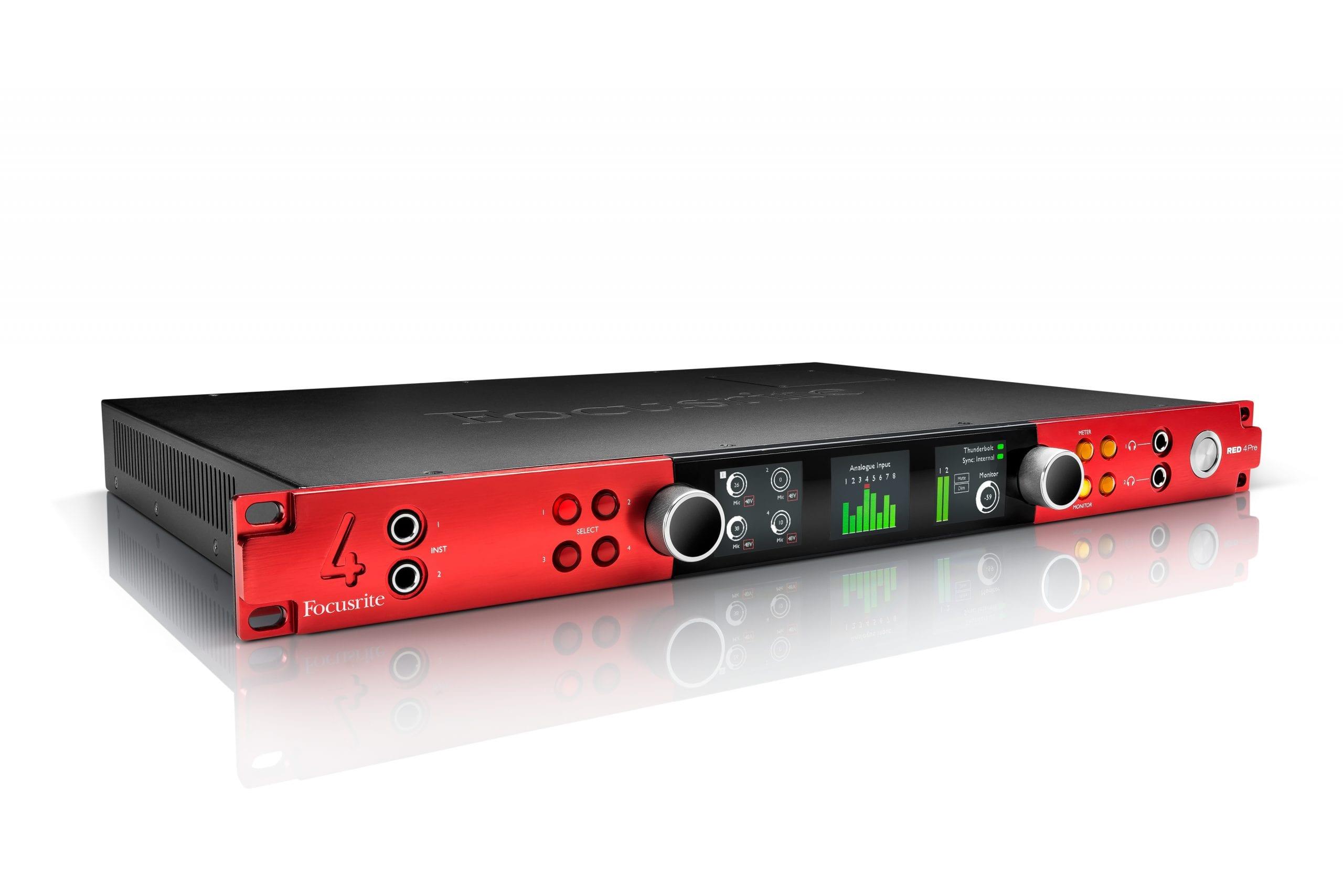 최고의 오디오인터페이스 Focusrite Red 4Pre