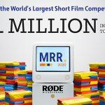 세계 최대 단편 영화 공모전 RØDE Reel 2020이 돌아왔습니다.
